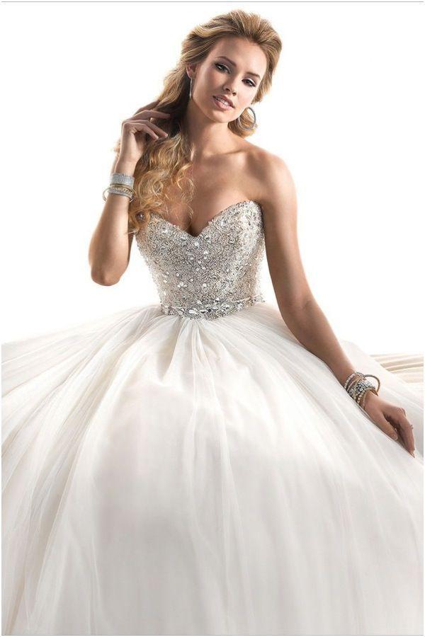 Свадьба - Ballgown Silhouette Maggie Sottero Wedding Dresses