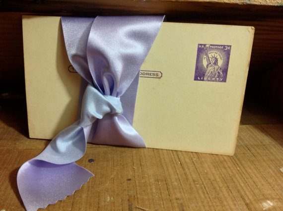 Mariage - light lavender reversible satin ribbon