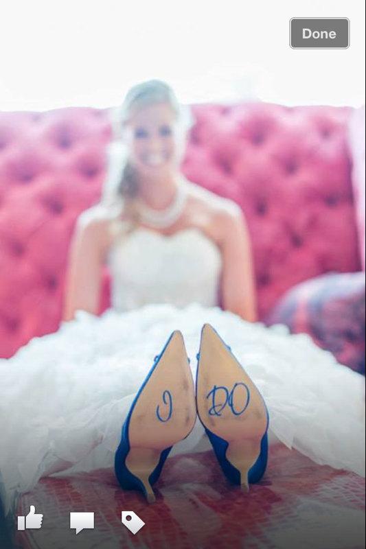 Свадьба - I DO Wedding Shoe Stickers - Decals - You choose color