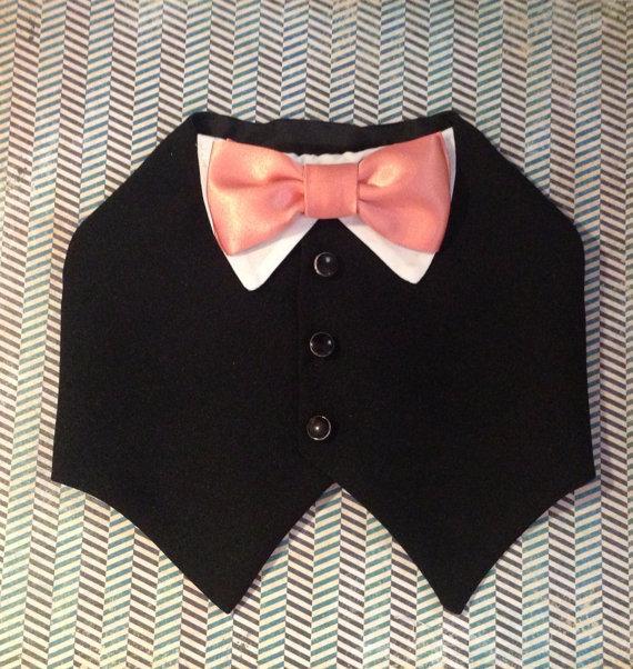 Свадьба - Black dog tuxedo