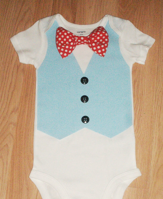 Coming Home Outfit Baby Boy Take 1st Birthday Light Blue Vest Smash Cake Carnival Tux