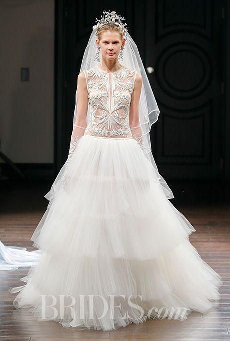 Свадьба - Naeem Khan Wedding Dresses - Spring 2016 - Bridal Runway Shows - Brides.com