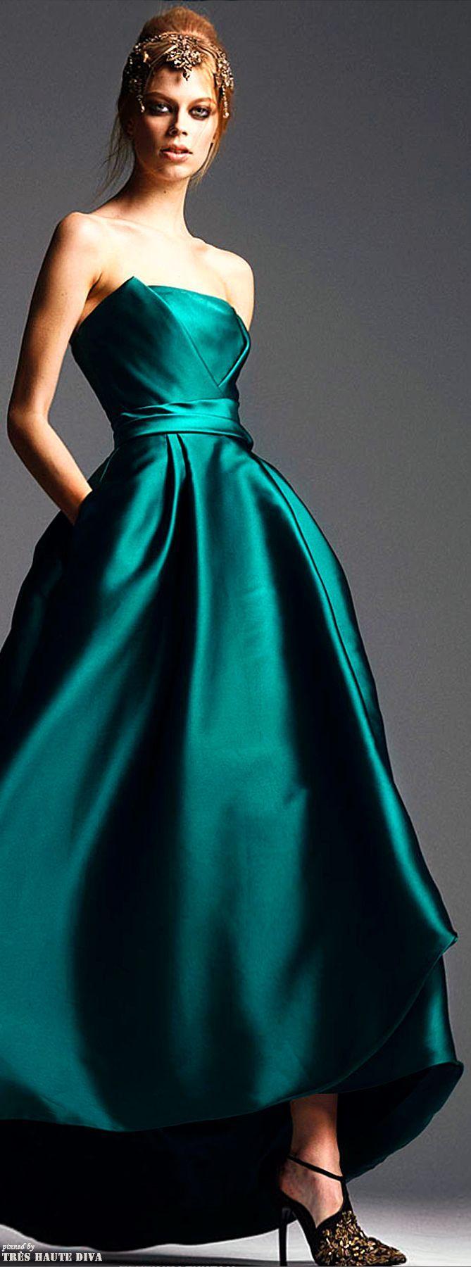 Hochzeit - Alberta Ferretti Pre-Fall 2014 Fashion Show: Complete Collection
