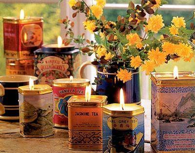 Свадьба - Making Candles In Tins