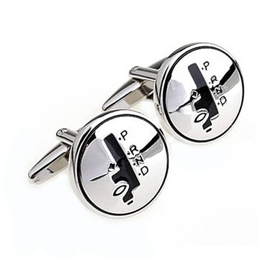 Свадьба - Shifter Cufflinks - Groomsmen Gift - Men's Jewelry - Gift Box Included