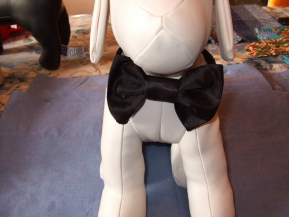Свадьба - Black Bow Tie Collar For That Black Tie Affair