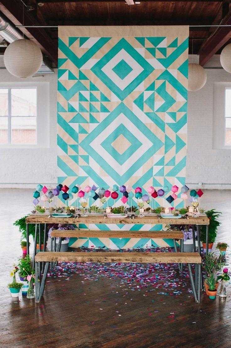 Свадьба - Bold Bright Wedding Ideas