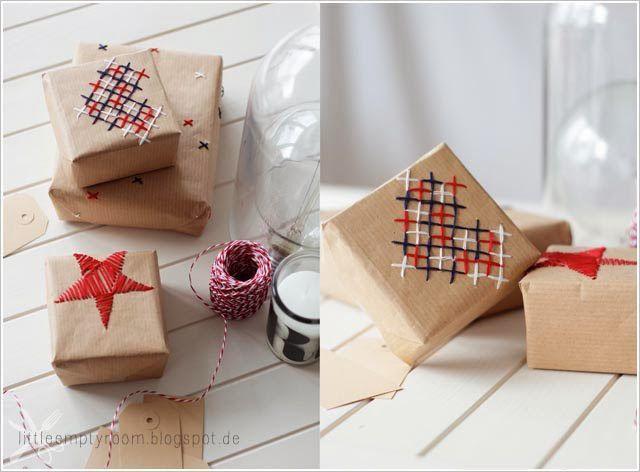 Оригинальные упаковка подарка