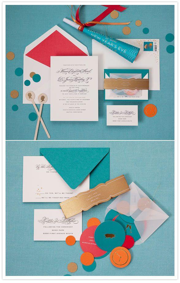 Wedding - Colorful Wedding Invitations