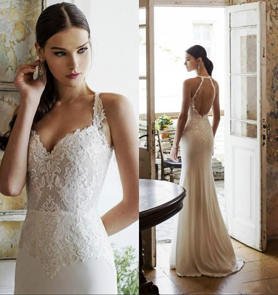 2015 Vadim Margolin Wedding Dresses Spring Summer Mermaid Lace ...
