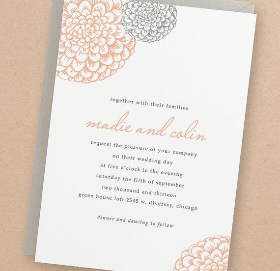 Wedding - Printable Wedding Invitation Template