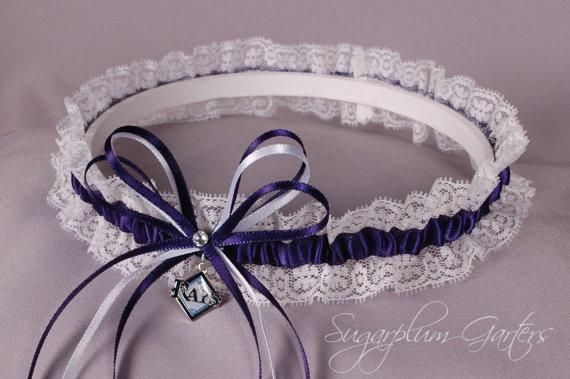 Mariage - Tampa Bay Rays Lace Wedding Garter
