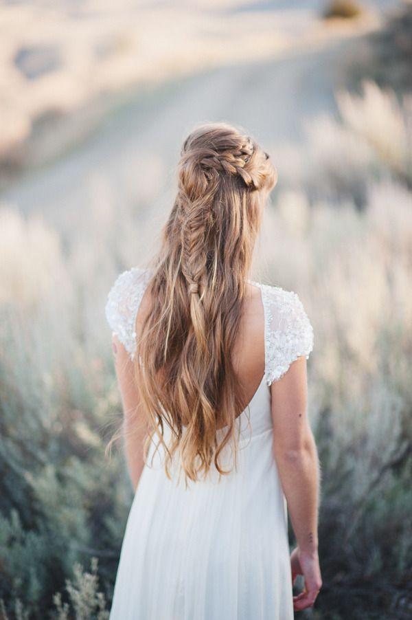 Wedding - 20 Bridal Fishtail Braids We Love