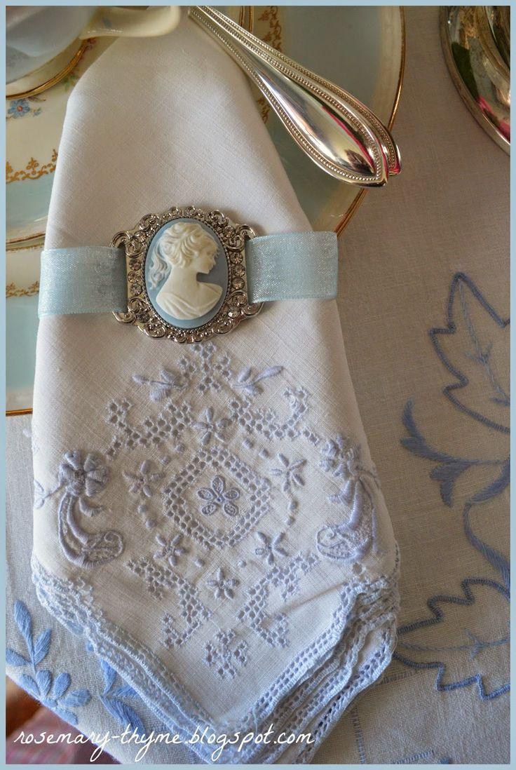Wedding - Folded Napkins