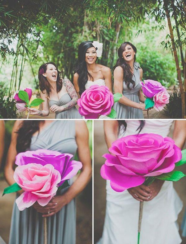 Цветы на свадьбы своими руками