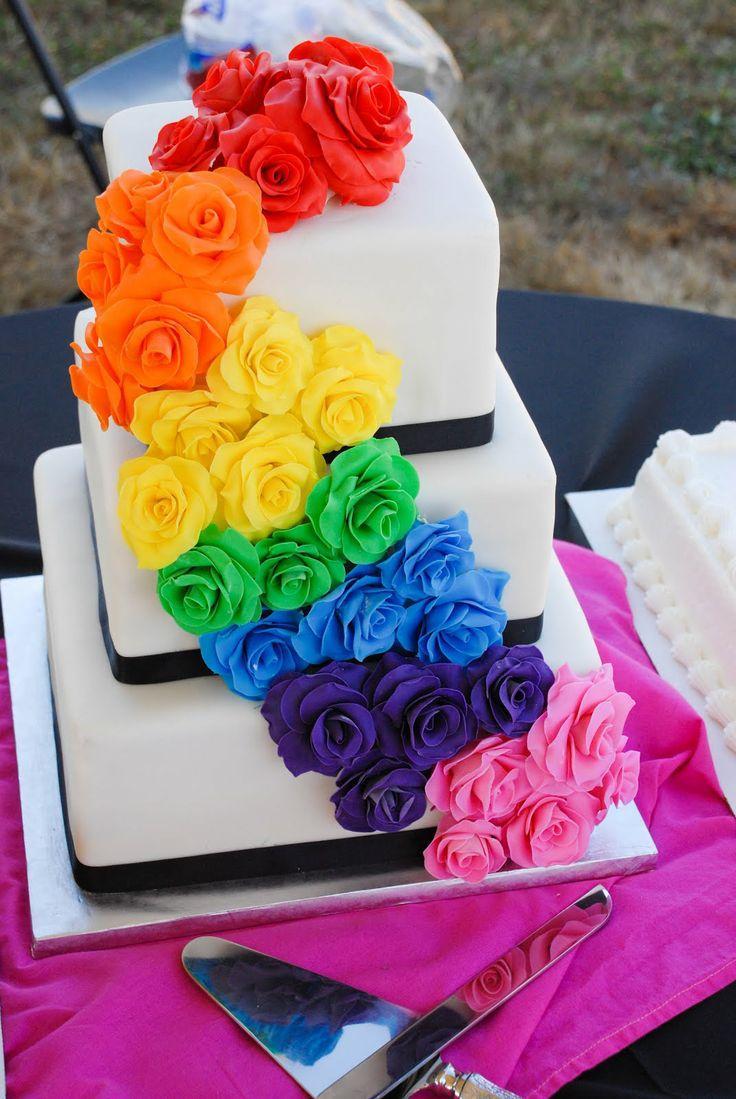 Wedding Theme Rainbow Weddings 2302197 Weddbook