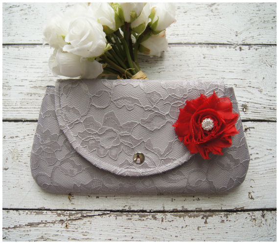 Mariage - Clutch - Satin Clutch -  Bridesmaid Clutches - Pouch - Formal - Wedding - Boutique - clutch