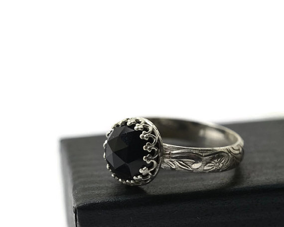 andino wedding rings stone black diamond jewellery engagement ring