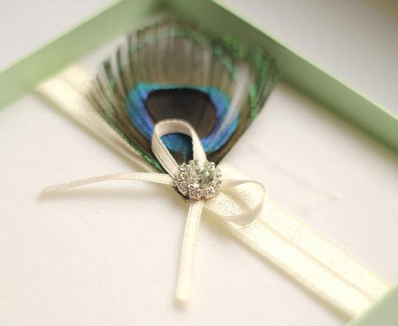 Mariage - Peacock Garter Rhinestone Wedding Garter - Toss Garter Belt - Wedding Accessory - Ivory White Elastic -Bridal Gift for Bride
