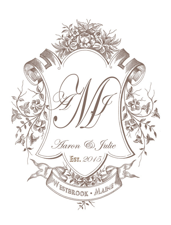 Free Monogram Designs For Weddings