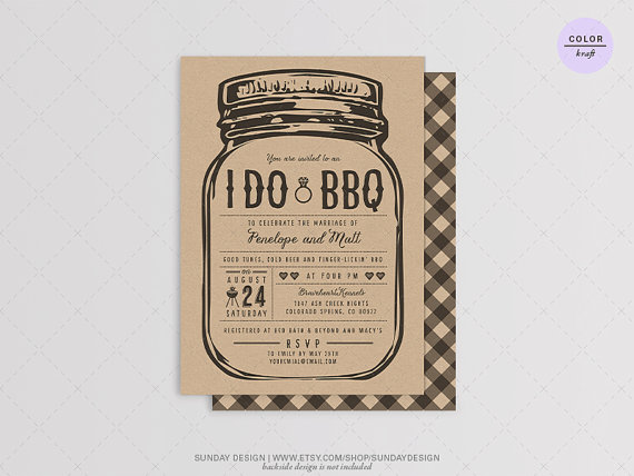 string of light i do bbq invitation card diy printable digital