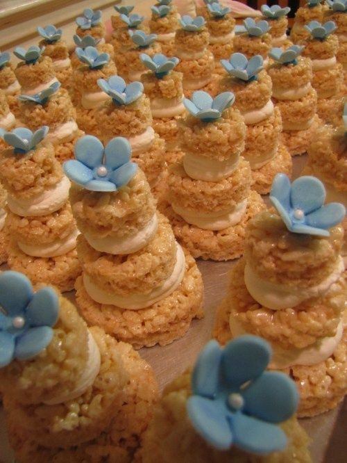 Свадьба - Rice Krispie Treat Ideas