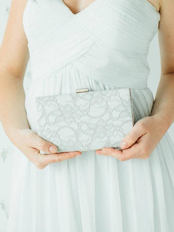 Mariage - Bridal Box Clutch
