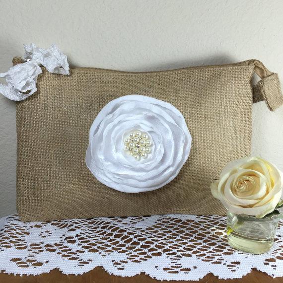 Bridesmaid Bags Rustic Wedding Bridal Gift Bridesmaid Gift