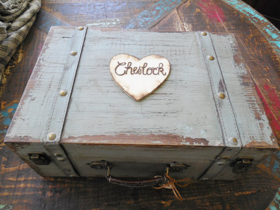 Wedding - X-Large Shabby Chic and Rustic Wooden Card Box - Rustic Wedding Card Box - Rustic Wedding Decor - Advice Box - Guestbook