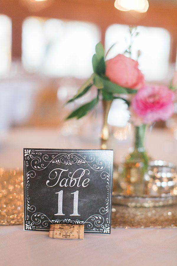 Свадьба - Pink And Gold Glittering Southern Wedding