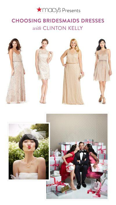 0221708a1555 Gorgeous Bridesmaid Dresses With Macy's Clinton Kelly #2304373 ...