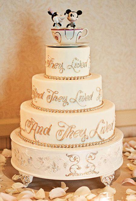 Wedding - Wedding Cake of the Week: Disney!