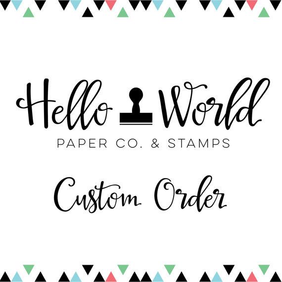 زفاف - Custom Wedding Invitation Stamp for Sian