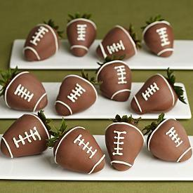 002112f9ab7 Full Dozen Hand-Dipped Football Strawberries And Other Chocolates & Gifts  At Berries.com