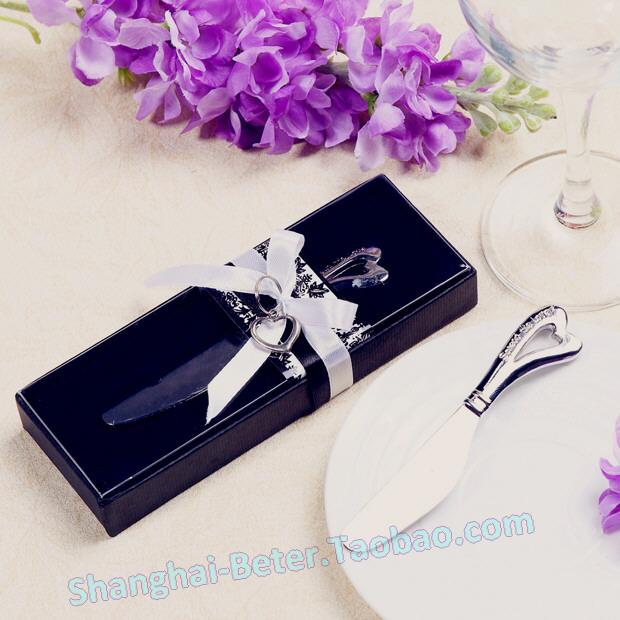 Hochzeit - Chrome Spreader with Heart-Shaped Handle WJ031