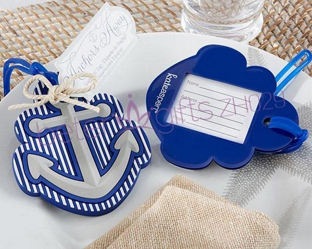 Свадьба - Destination Love Anchor Travel Tag Travel Essentials ZH029