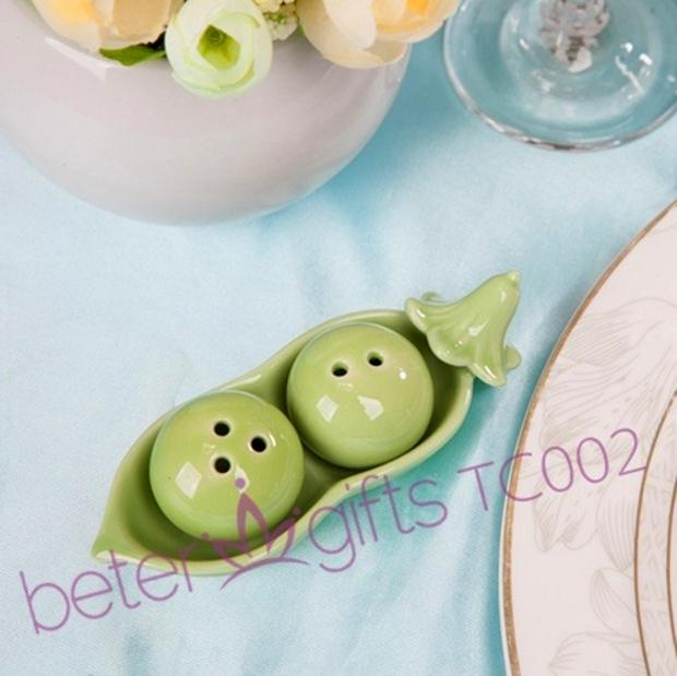 Two peas in a pod salt and pepper shakers 2304976 weddbook - Two peas in a pod salt and pepper shakers ...