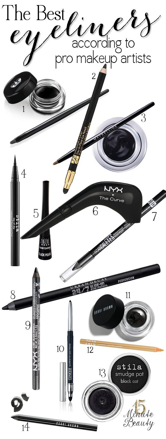 Wedding - The Best Eyeliners According To Makeup Artists
