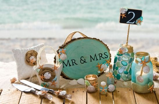 Wedding - 10 DIY Beach Wedding Projects