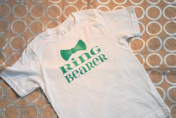 Mariage - Bow Tie Ring Bearer T-Shirt - Boys T-Shirt