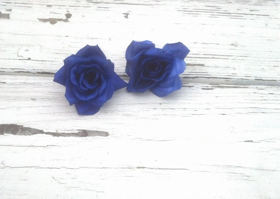 Silk flowers 5 small roses royal blue diy bridal craft accessories silk flowers 5 small roses royal blue diy bridal craft accessories wedding flower supply hair combs centerpieces corsages boutonnieres mightylinksfo Choice Image