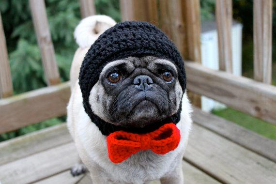 Свадьба - Dog Groom Wedding Hat / Made to Order