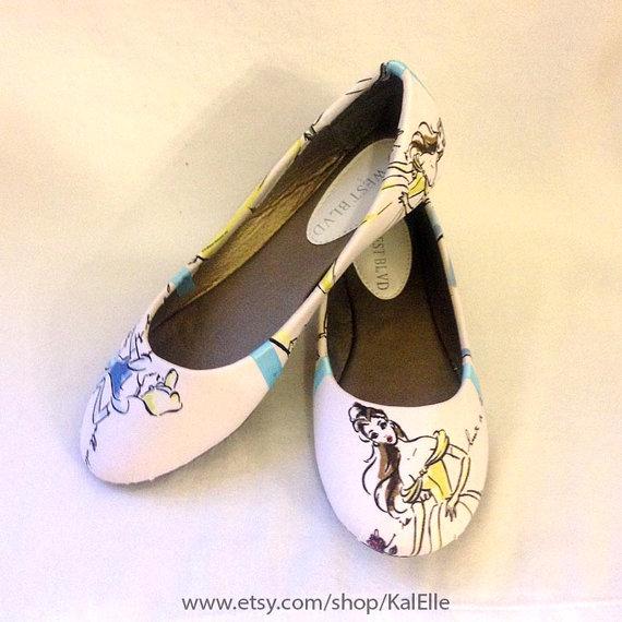 Свадьба - Disney Princess Flats