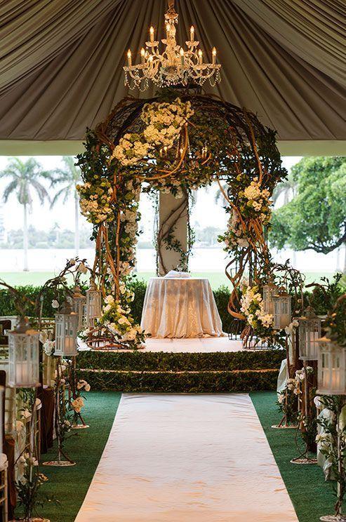 Wedding - Picture-Perfect Wedding Ceremony Altar Ideas
