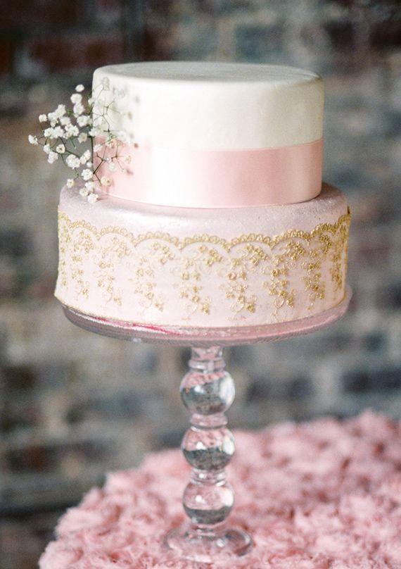 Hochzeit - Pink & Gold Wedding