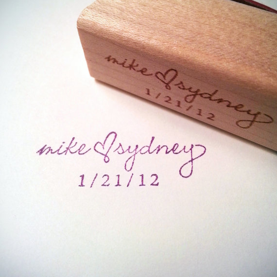 زفاف - Personalized Wedding Stamp