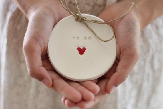 ring bearer pillow alternative wedding ring bearer we do ring dish ring pillow alternative ceramic ring holder