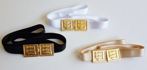 Mariage - Gold belt - skinny Belt - Nude Belt - Wedding belt - Bridesmaids Belt - Stretch Belt - waist Belt - dress belt - swimmimg ducks - Gift