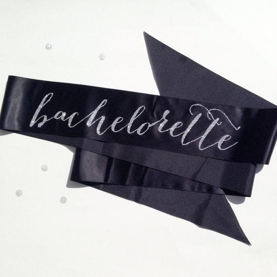 زفاف - Bachelorette Sash