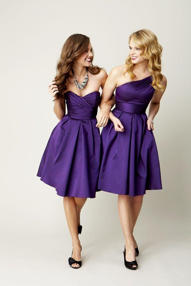 Wedding - Purple Bridesmaids Dresses!